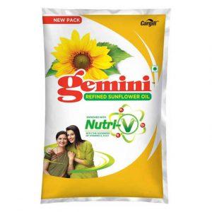 Gemini Sunflower Oil 1 Litre