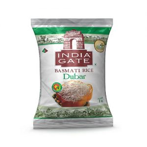 India Gate Basmati Rice – Dubar, 1 kg Pouch
